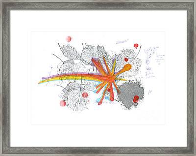 Colored Street. 22 September, 2015 Framed Print by Tatiana Chernyavskaya