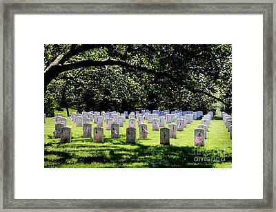 Colored Troops Of The Civil War Framed Print by Paul W Faust - Impressions of Light