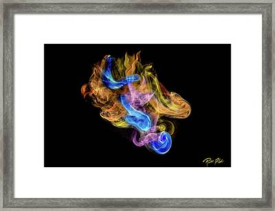 Framed Print featuring the photograph Colored Vapors by Rikk Flohr