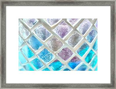Colored Windows Framed Print