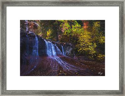 Colorfalls Framed Print by Peter Coskun