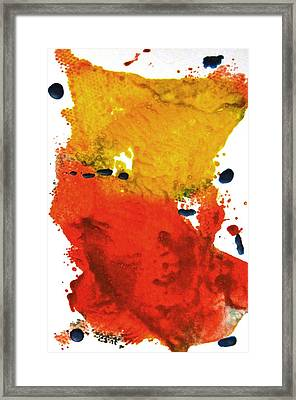 Colorfield Framed Print by Kruti Shah