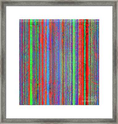 Colorful - With Or Without You Framed Print by Fania Simon