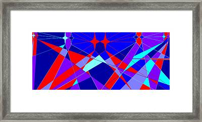 Colorful 1 Framed Print by Linda Velasquez
