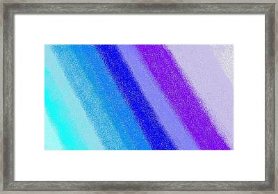 Colorful 3 Framed Print by Linda Velasquez