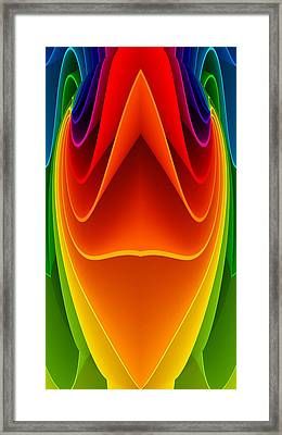 Colorful 3a1 Framed Print by Bruce Iorio