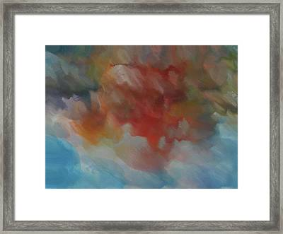 Colorful Abstract 2 Framed Print by Dan Sproul