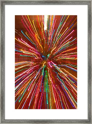 Colorful Abstract Photography Framed Print by James BO  Insogna
