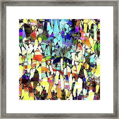 Colorful Abstract Shapes 1 Framed Print