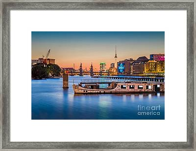 Colorful Berlin Framed Print by JR Photography