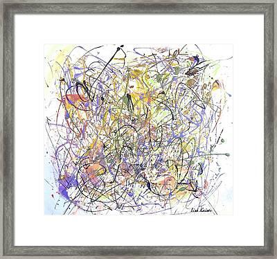 Colorful Blog Framed Print by Lisa Kaiser