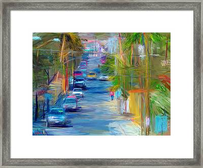 Colorful Calle  Framed Print