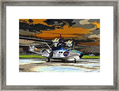 Colorful Catalina Framed Print by David Lee Thompson