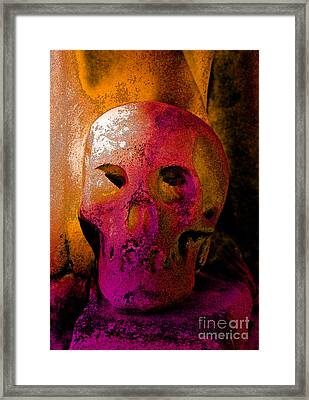 Colorful Character Framed Print by Valerie Fuqua