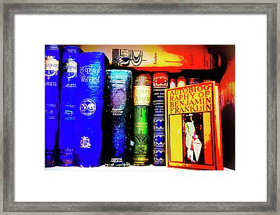 Colorful Classics Framed Print by Toni Hopper