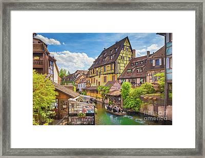 Colorful Colmar Framed Print