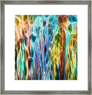Colorful Connection Framed Print by Dan Sproul