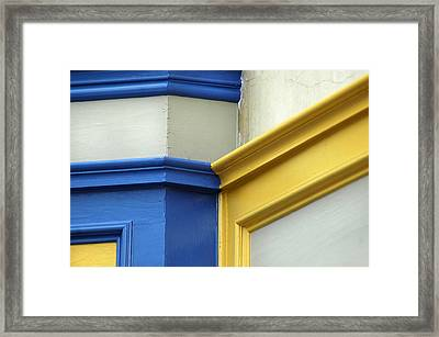 Colorful Connections Framed Print by Dan Holm
