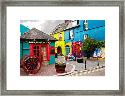 Colorful Corner Framed Print