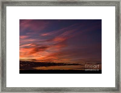 Colorful Dawn Framed Print