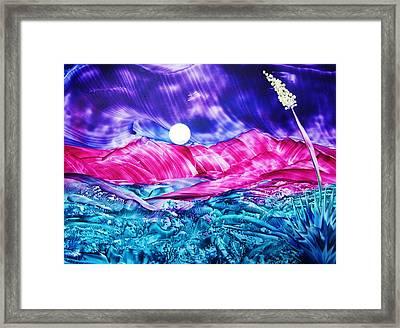 Colorful Desert Framed Print