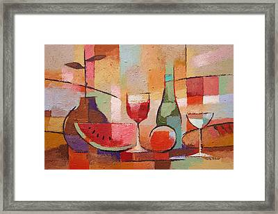 Colorful Dining Framed Print