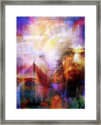 Colorful Drama Vision Framed Print