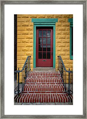 Colorful Entry Framed Print
