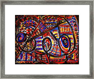 Colorful Expression 18 Framed Print
