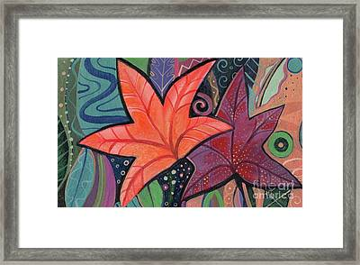Colorful Fall Framed Print