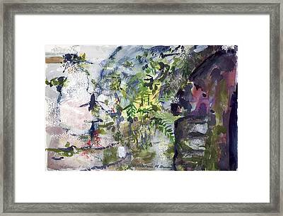 Colorful Foliage Framed Print
