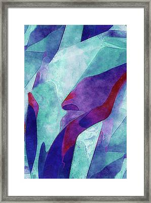 Colorful Form Framed Print by Jack Zulli