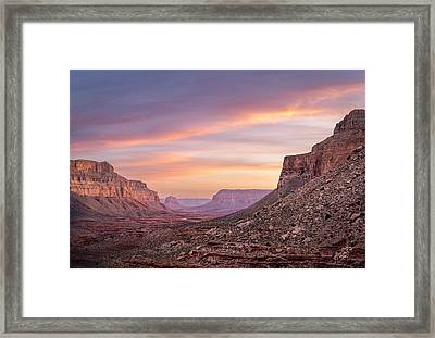 Colorful Havasupai Hike Framed Print