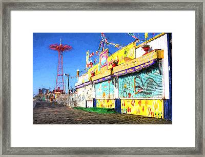 Colorful Framed Print by JC Findley