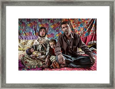 Colorful Framed Print by Mohammadreza Momeni