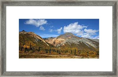 Colorful Mountains Framed Print by Dave Clark