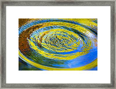 Colorful Nature Abstract Framed Print by Christina Rollo