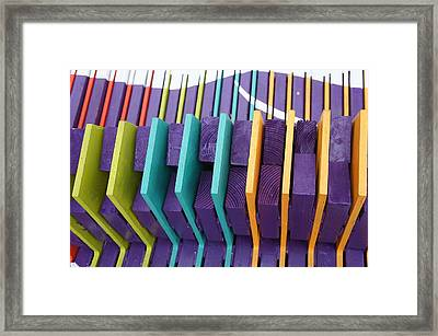 Colorful Pattern 3 Framed Print by Art Spectrum