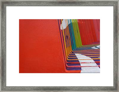 Colorful Pattern 4 Framed Print by Art Spectrum