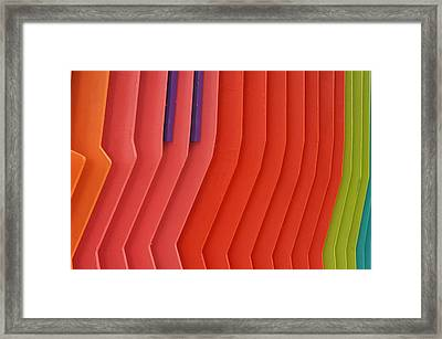 Colorful Pattern 7 Framed Print by Art Spectrum