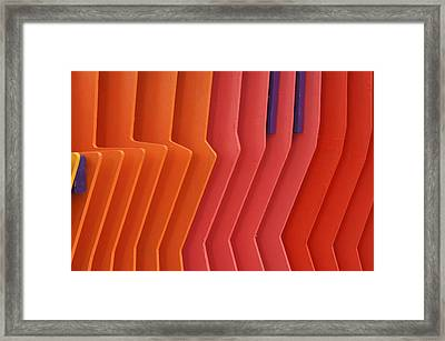 Colorful Pattern 8 Framed Print