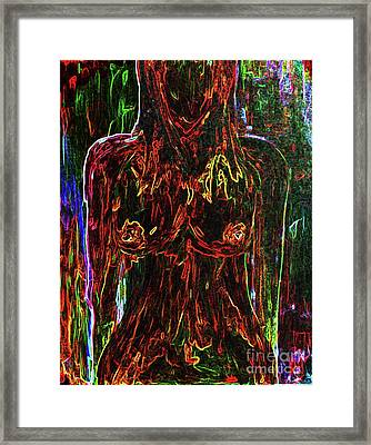 Colorful Personality Framed Print by Julie Lueders