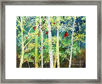 Colorful Presence Framed Print by Hailey E Herrera