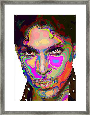 Colorful Prince Framed Print
