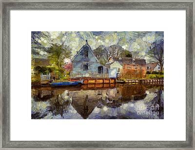 Colorful Serenity Framed Print
