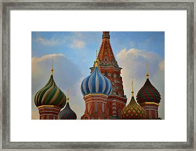 Colorful Sky Framed Print by JAMART Photography