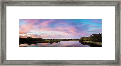 Colorful Sky Framed Print