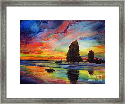 Colorful Solitude Framed Print
