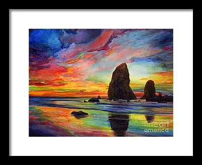 Colorful Cloud Formations Framed Prints