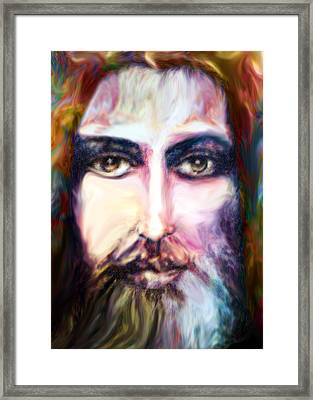 Colorful Spirit Framed Print by Munir Alawi